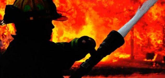 Lipjan- I vihet zjarri hangarit të ushqimit të kafshëve