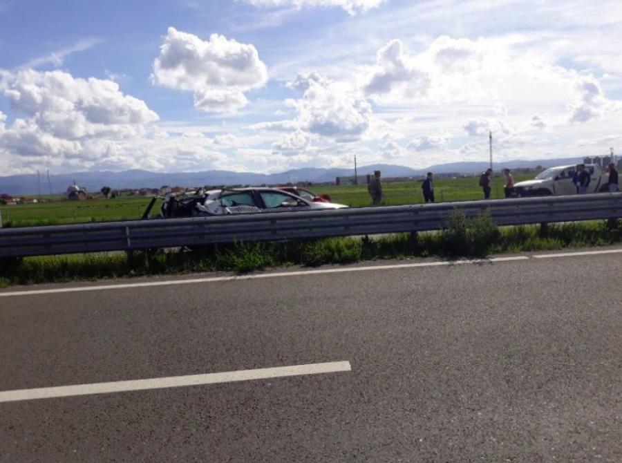 Aksident i rëndë në autostradën 'Arbën Xhaferi', lëndohen katër persona