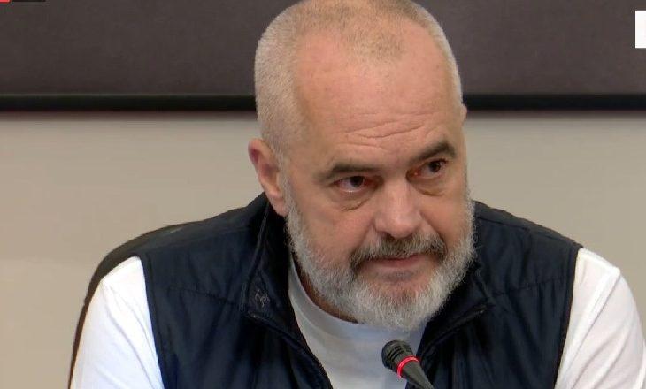Rama: Nuk erdha këtu për t'i ulur ne tryezë liderët, këtë s'e bën Kryeministri i Shqiperisë