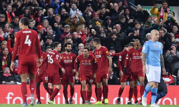 Liverpool e fiton derbin dhe shkon në +9 ndaj Man City