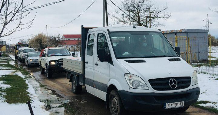 Komuna e Lipjanit po vazhdon shpërndarjen e ndihmave (VIDEO)