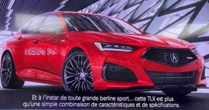 Mësohet dukja që do ta ketë Acura TLX, vetëm pak kohë para prezantimit zyrtar