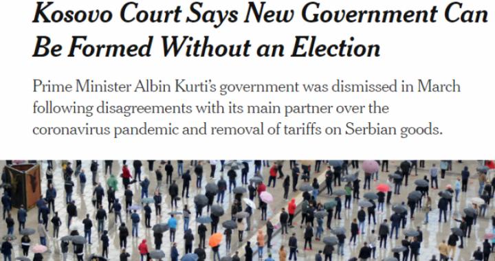 Rreth vendimit të Gjykatës Kushtetuese raportojnë edhe mediat ndërkombëtare
