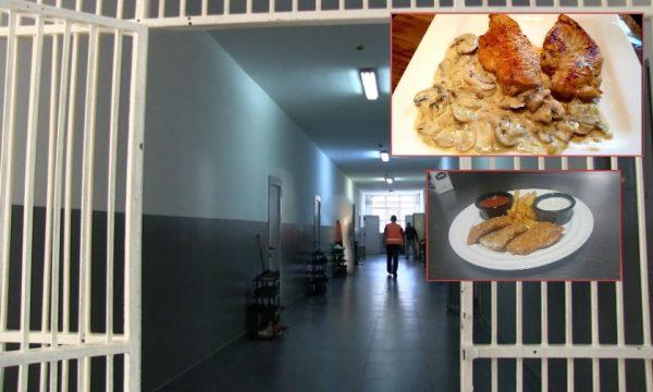 Të burgosurit me menu të re të ushqimit, ja çka do të kenë në shujta