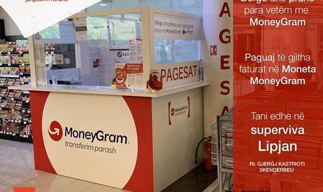 Money Gram në Super Viva në Lipjan e hapur nga ora 09:00 -18:00