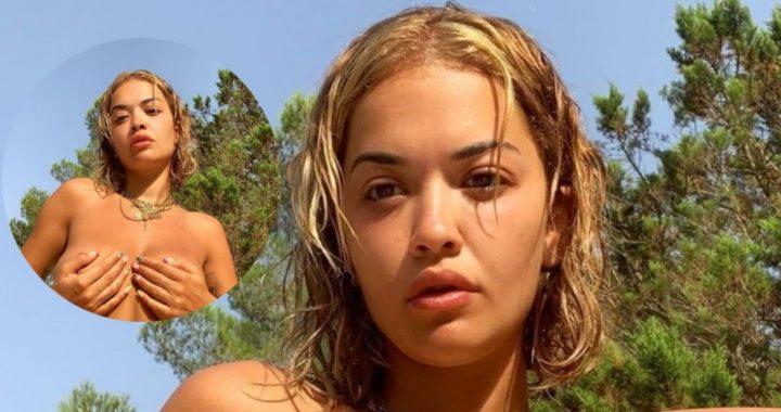 """Rita Ora në Ibiza, pranë saj """"heshtet edhe miza"""""""