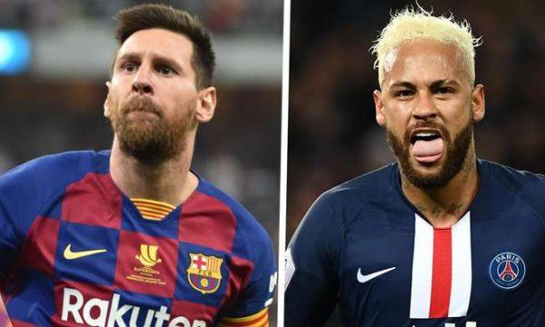 Neymar mbresëlënës, barazon rekordin e Messit në Ligën e Kampionëve