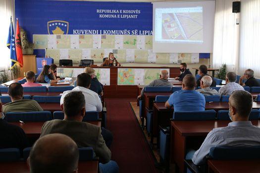 DPUMM vazhdon me prezantimin e Projekt dokumentit – Harta Zonale e Komunës së Lipjanit 2020-2028