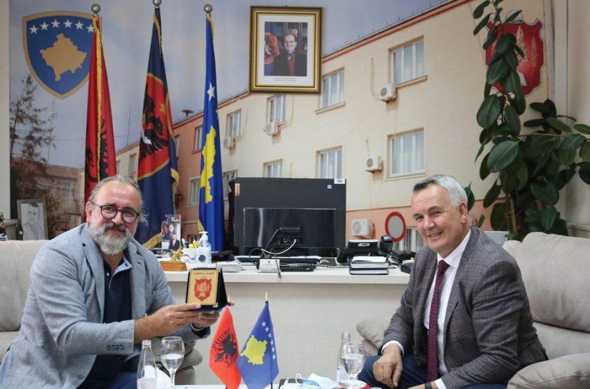 Kryetari Ahmeti, ka pritur Kryetarin e Bashkëisë së Vlorës së Shqipërisë Dr. Dritan Leli