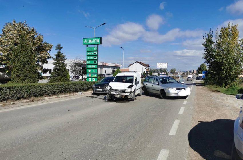 Aksident në Lipjan (FOTO)