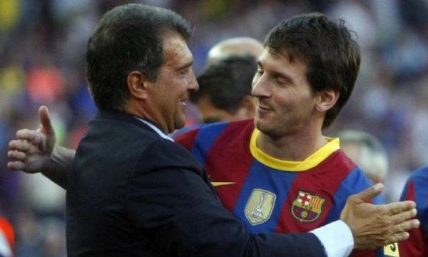 Laporta: Messi e do Barcelonën