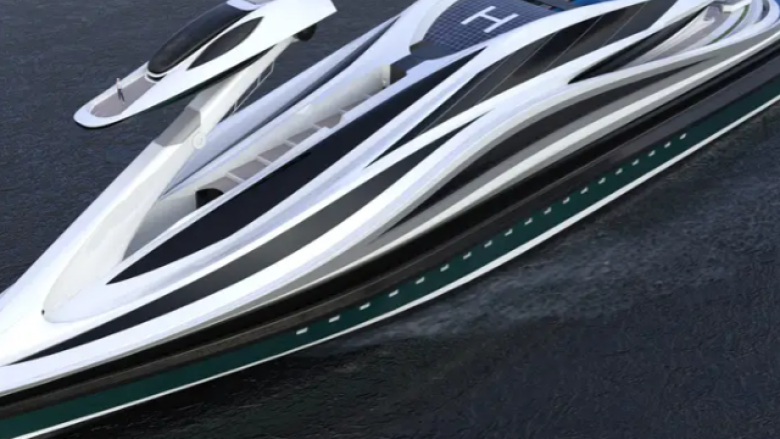 Super jahti 500 milionë dollarësh u projektua për t'u dukur si një mjellmë