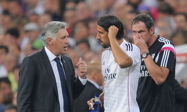"""Ancelotti """"do të dëshironte të punonte me Khedira"""""""